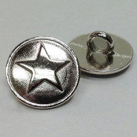 M-177 - 5-Point Star Metal Button