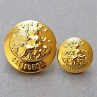M-1922-Gold California State Seal Button, 2 Sizes