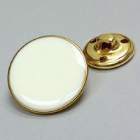M-2901 Ivory Epoxy Button - 3 Sizes