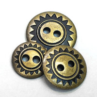 M-304 Southwestern Style Button, 3 Sizes