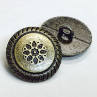 M-305-Southwestern Metal Shank Button