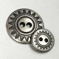 M-306 Southwestern Style Button, 2 Sizes