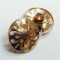 M-4781-Gold Metal Fashion Button