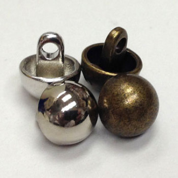 M-7247 - Small Domed Metal Button