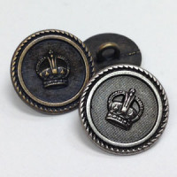 M-838  Blazer Button, 2 Sizes - 2 Colors