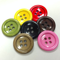 NV-0045  Large Novelty Two-Piece Button - 7 colors