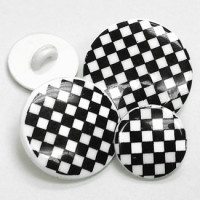 NV-1326 - Checkerboard Button - 3 sizes