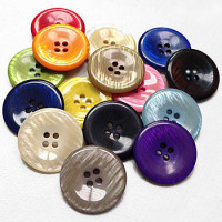 P-1266 - Large Pearly Button - 15 Colors