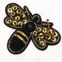 BFXU-006 Bumblebee Applique,Sold Per Piece or Set of 3