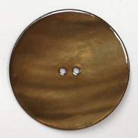 1403 Large Brown Rivershell Button