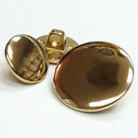 220692 - Gold Blazer, Jacket, Coat Button - in 6 Sizes