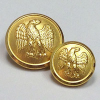29932 Matte Gold Blazer Button - 2 Sizes