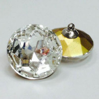 4010 Crystal Rhinestone Button, 4 Sizes
