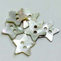 Agoya Shell Star Button
