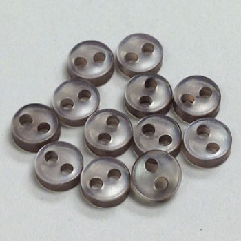 BB-000-D Micro Size 2-Hole Doll Button, Priced by the Dozen
