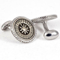 CFM-123  Metal Cufflinks