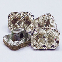 G-05515 Vintage Crystal Glass Button
