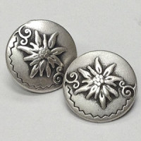 M-7681-Metal Fashion Button