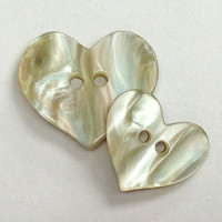 P-0212  Novelty Heart Button - 2 Sizes