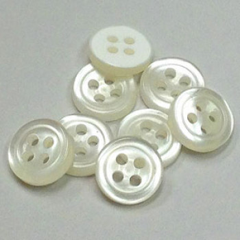 SX-203 Super Durable Dress Shirt Button - in 2 Sizes, Priced per Dozen