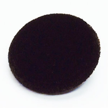 VE-1038-Dark Brown Velvet Button
