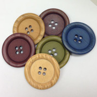 WDA-110-Faux Wood Button