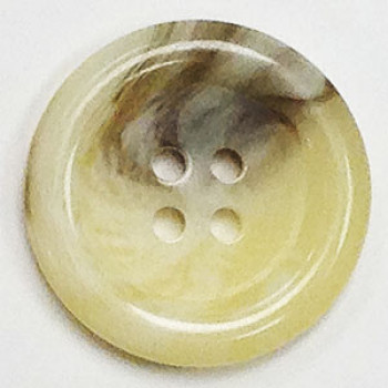 H-9905 Natural Horn-Look Button - 4 Sizes