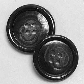 HNX-14 Dark Grey Overcoat Button - 2 Sizes