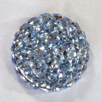 9244 Rhinestone Button (13 Colors)