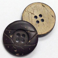 CO-590 Reversible Coconut Button