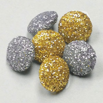LM-100 Small Glitter Button