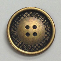 M-007-Metal Fashion Button