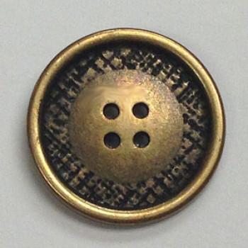 M-007-Metal Fashion Button