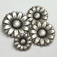 M-024-Metal Fashion Button, 4 Sizes