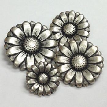 M-024-Metal Fashion Button, 4 Sizes