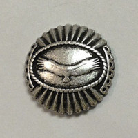 M-1418 Hawk Metal Button