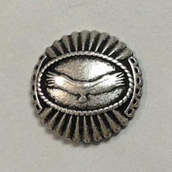 M-1418 Hawk Metal Button