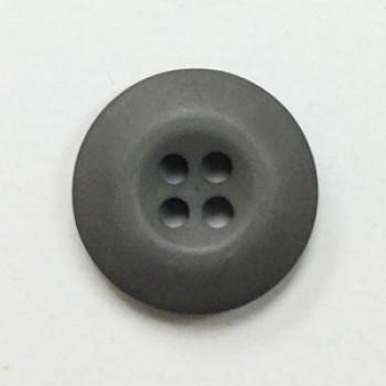 WB-27-Matte Grey Uniform Button, Sold by the Dozen