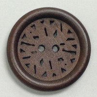 WD-921 Laser Wood Button