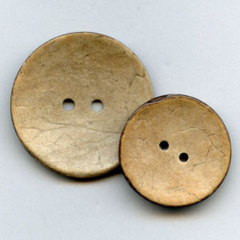 CO-6120 - Large Coconut Button, 2 Sizes