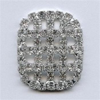 C-1344-Crystal Rhinestone Button
