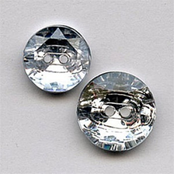 CL-3259 - Faceted Acrylic Button