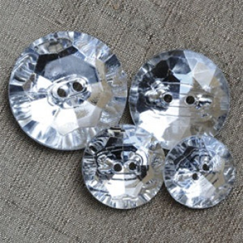 CL-3260 - Faceted Acrylic Button