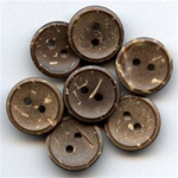 CO-202-D Coconut Button, Priced by the Dozen