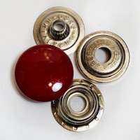 FSN-15  Red 4-Part Ring Snaps, Priced per Dozen