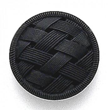G-5866 Matte Black Glass Button, 3 Sizes