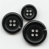 HNA-501- Black Suit  Button - 3 Sizes