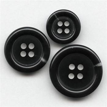 HNA-501- Black Suit  Button - 3 Sizes