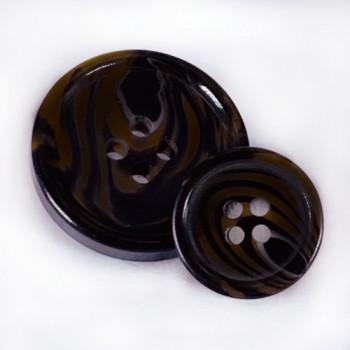 HNA-506 Dark Brown Suit Button - 3 Sizes