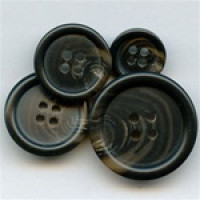 HNX-11-Dark Brown Suit and Jacket Button - 3 Sizes